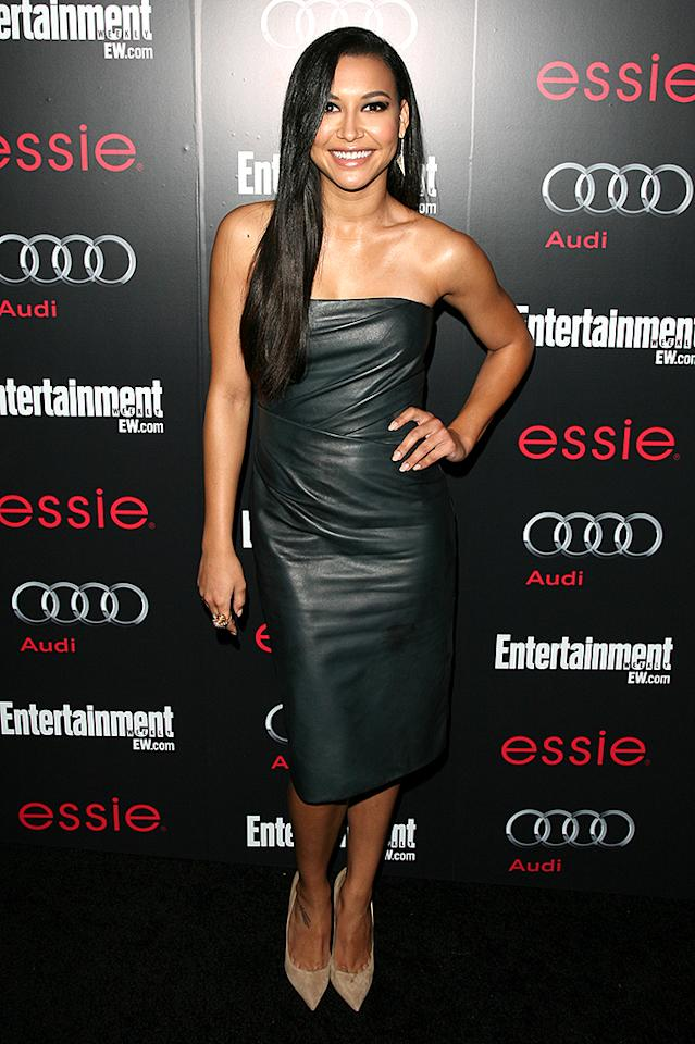Entertainment Weekly Hosts Celebration Honoring The Screen Actors Guild Awards Nominees at The Chateau Marmont in Hollywood, CA. Pictured: Naya Rivera Ref: SPL486870  260113  Picture by: Veronica Summers / Splash News   Splash News and Pictures Los Angeles:310-821-2666 New York:212-619-2666 London:870-934-2666 photodesk@splashnews.com