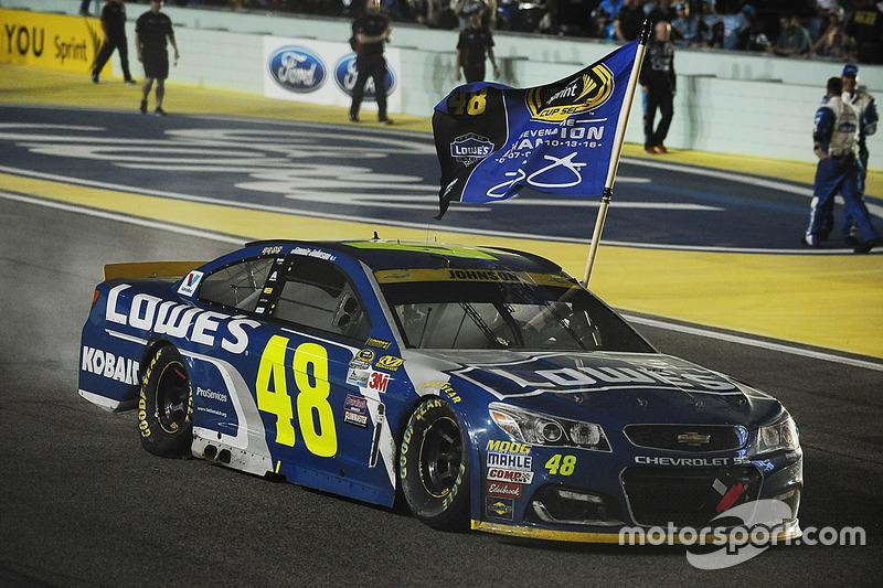 "2016: Jimmie Johnson (Hendrick-Chevrolet)<span class=""copyright"">Rainier Ehrhardt</span>"