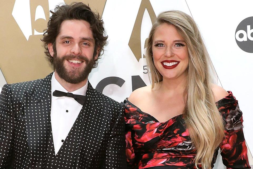 Thomas Rhett Says CMA Awards with Wife Lauren Akins Is a 'Date Night for Sure'