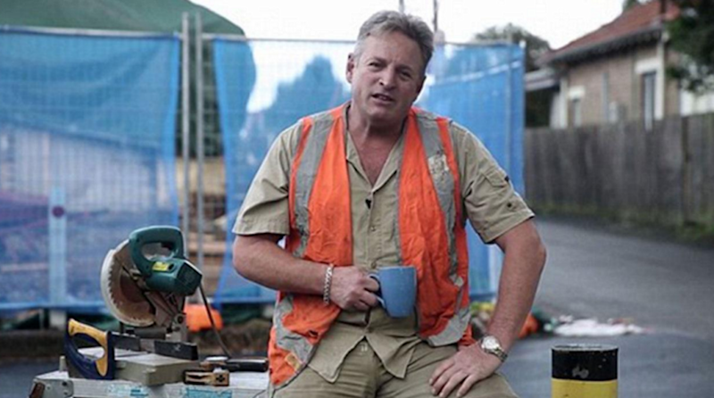 The man labelled a 'fake tradie' has been confirmed a real one.