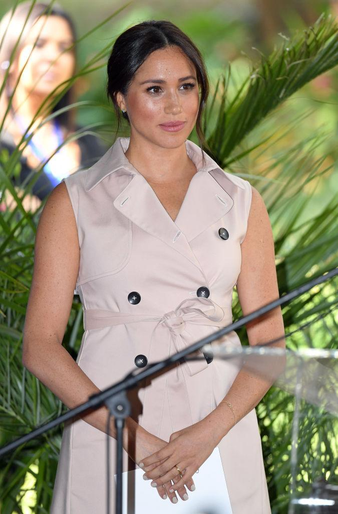 The Duchess of Sussex is reported to have struggled with anxiety due to the negative press she received while working as a senior royal. (Photo by Karwai Tang/WireImage)