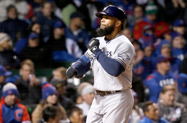 Eric Thames is on a home-run barrage