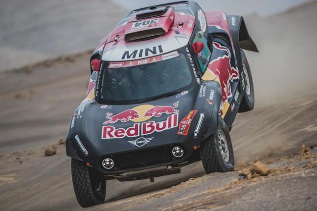 "#304 X-Raid Mini JCW Team: Stéphane Peterhansel, David Castera <span class=""copyright"">Red Bull Content Pool</span>"