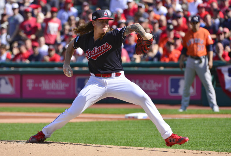 High, hard: Indians' Clevinger takes aim at cheating Astros