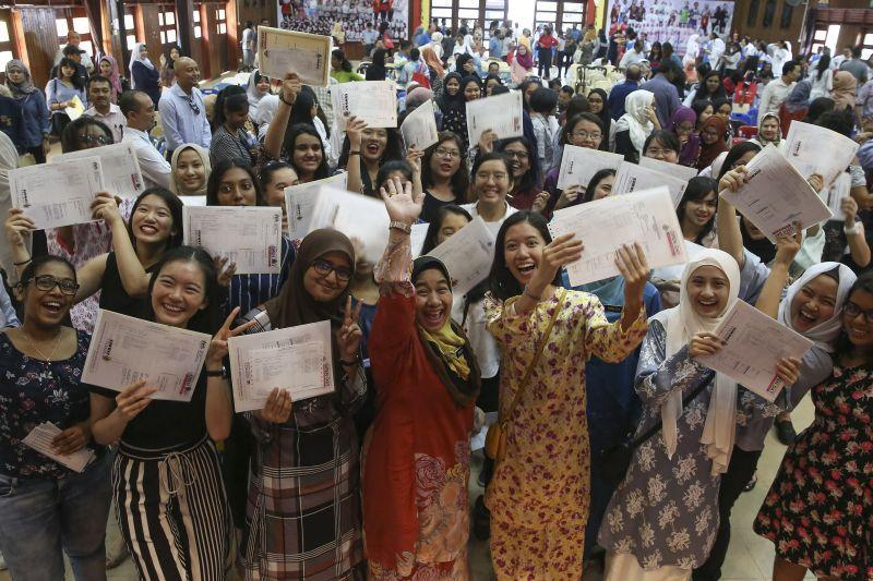 Mohd Radzi said the printing and distribution of SPM certificates have been brought forward from the usual six months to just over one month. ― Picture by Yusof Mat Isa