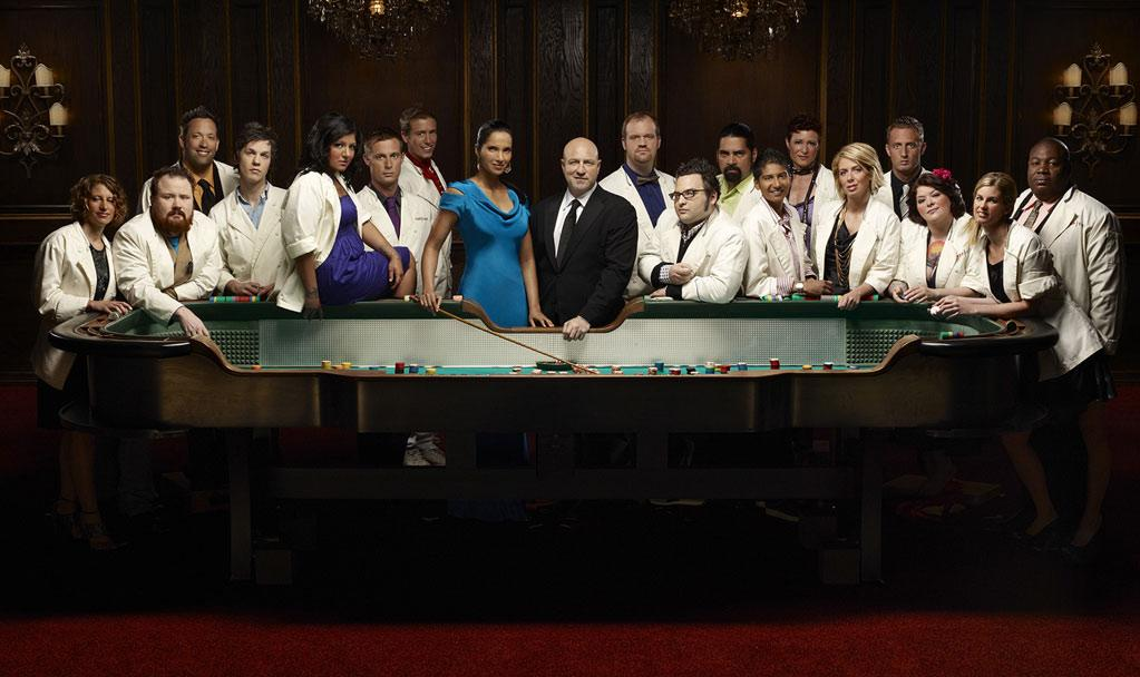 """The contestants from Season 6 of <a href=""""/top-chef/show/38481"""">""""Top Chef.""""</a>"""