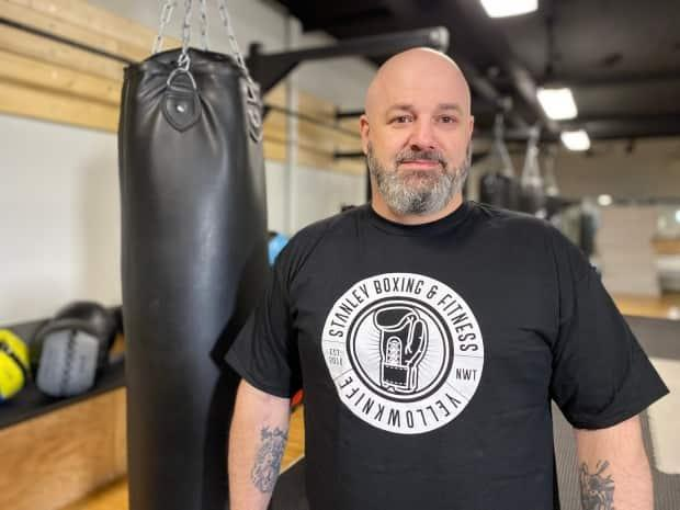 John Stanley of Yellowknife has been involved in combat sports since he was 15 years old starting with boxing then into Taekwondo. (Chantal Dubuc/CBC - image credit)
