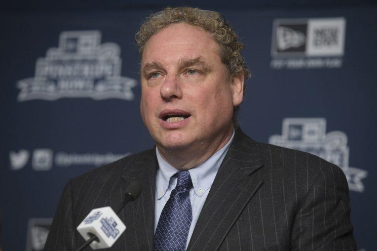 Yankees president Randy Levine has had a sudden change of heart about Dellin Betances. (AP Photo)