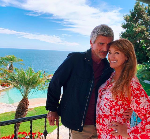 Joe Lando e Jane Seymour (Instagram/janeseymour).