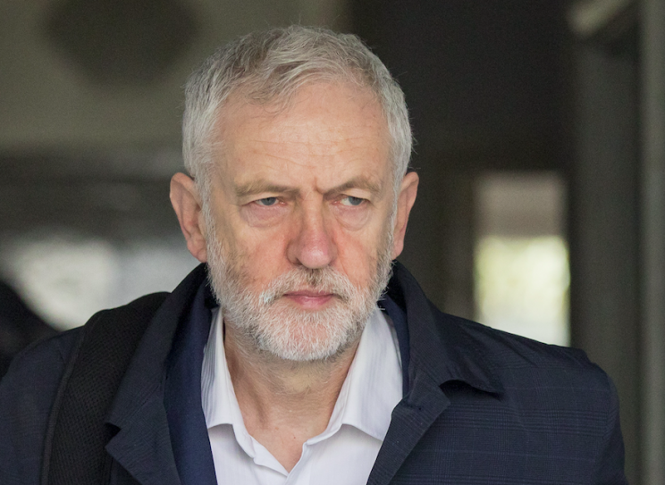 Jeremy Corbyn said Labour would not block a second referendum in Westminster (Rex)