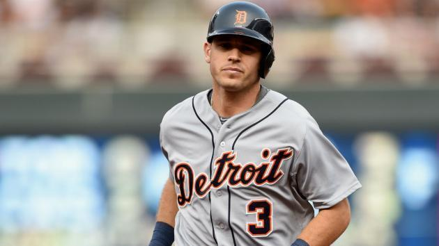 Veteran second baseman Ian Kinsler was traded to the Los Angeles Angels at the MLB Winter Meetings. (AP)