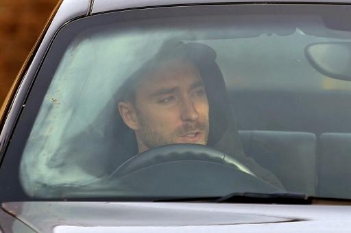 Tottenham midfielder Christian Eriksen arrives for training after Jose Mourinho was announced as the club's new manager