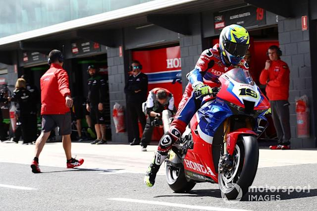 "Alvaro Bautista, Team HRC <span class=""copyright"">Gold and Goose / Motorsport Images</span>"