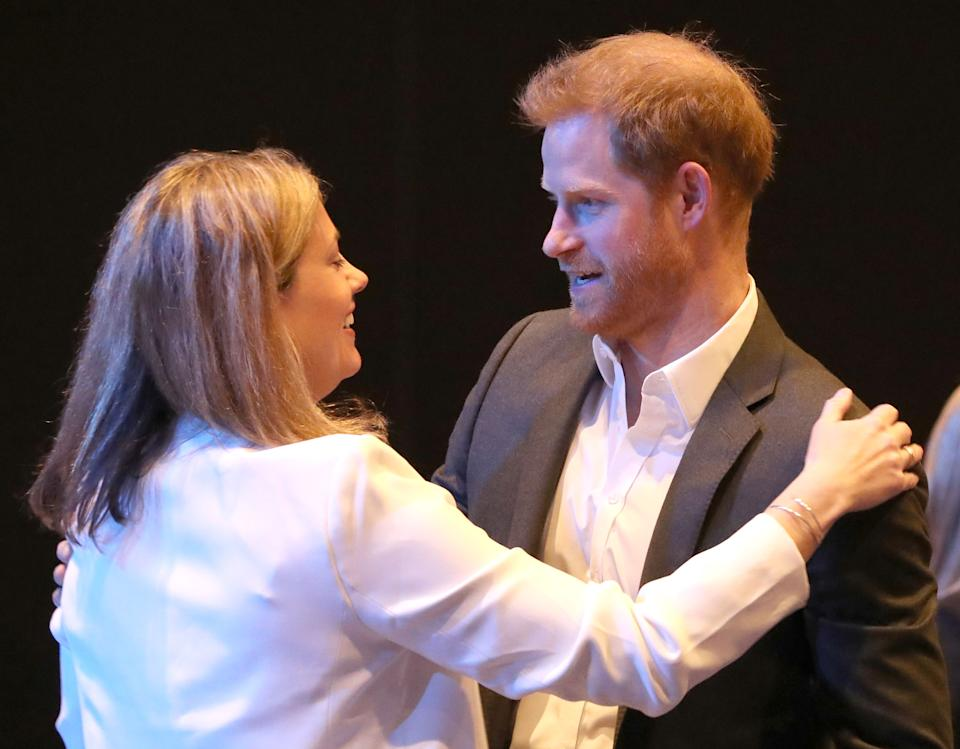 The Duke of Sussex during a sustainable tourism summit at the Edinburgh International Conference Centre in Edinburgh. PA Photo. Picture date: Wednesday February 26, 2020. See PA story ROYAL Sussex. Photo credit should read: Andrew Milligan/PA Wire