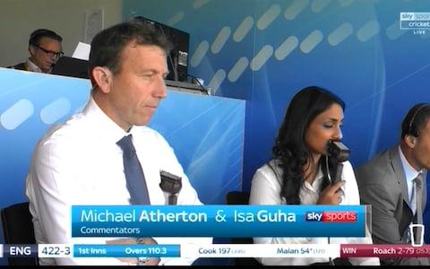Isa Guha dayboo - Credit: Sky Sports Cricket