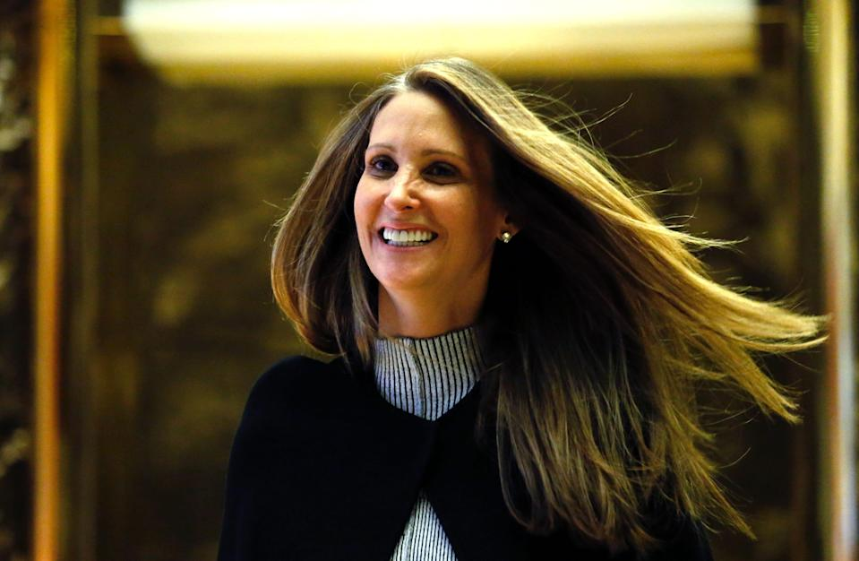 Stephanie Winston Wolkoff, former friend to first lady Melania Trump, at Trump Tower in New York on Dec. 5, 2016.
