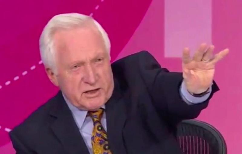 Dimbledance: Is the veteran broadcaster heading for Strictly Come Dancing?: BBC