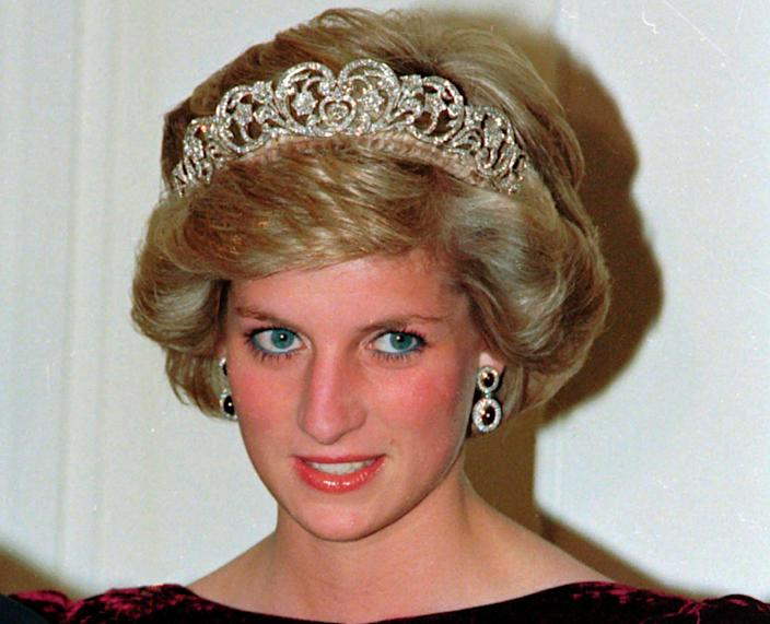 <p>'I have always thought of Princess Diana as a fashion muse, breaking boundaries and altering perceptions of what it means to be a Royal'</p> (1985 AP)