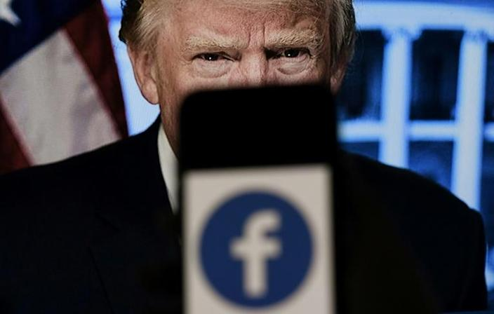 The independent oversight board created by Facebook was set to decide on whether to affirm the former US leader's ban from the platform for inciting violence
