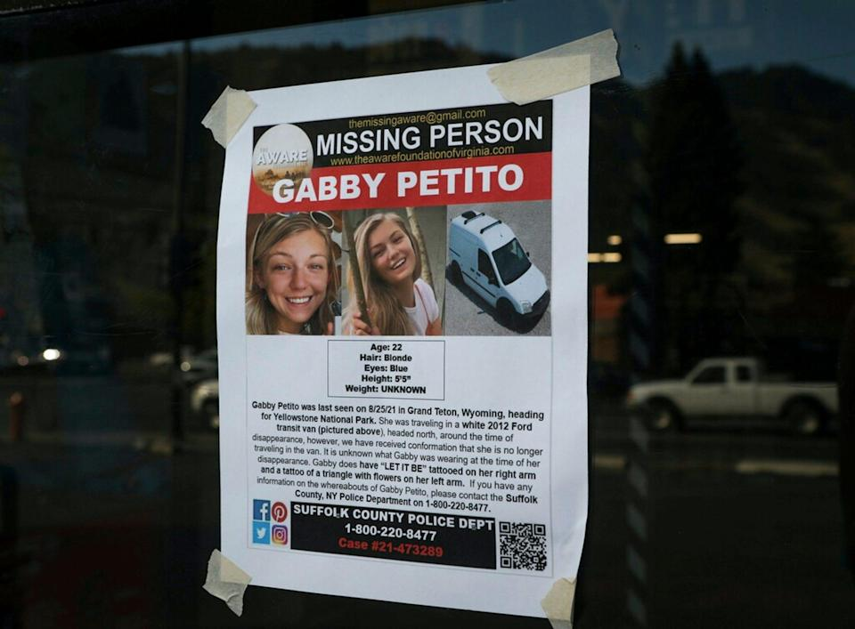 On Tuesday authorities confirmed Gabby Petito's remains had been found and said she was the victim of a homicide (YouTube)