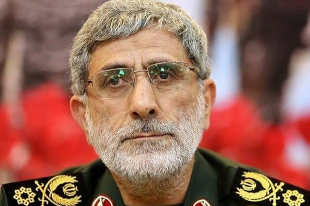 Iran general steps out of Soleimani's shadow to lead Quds Force