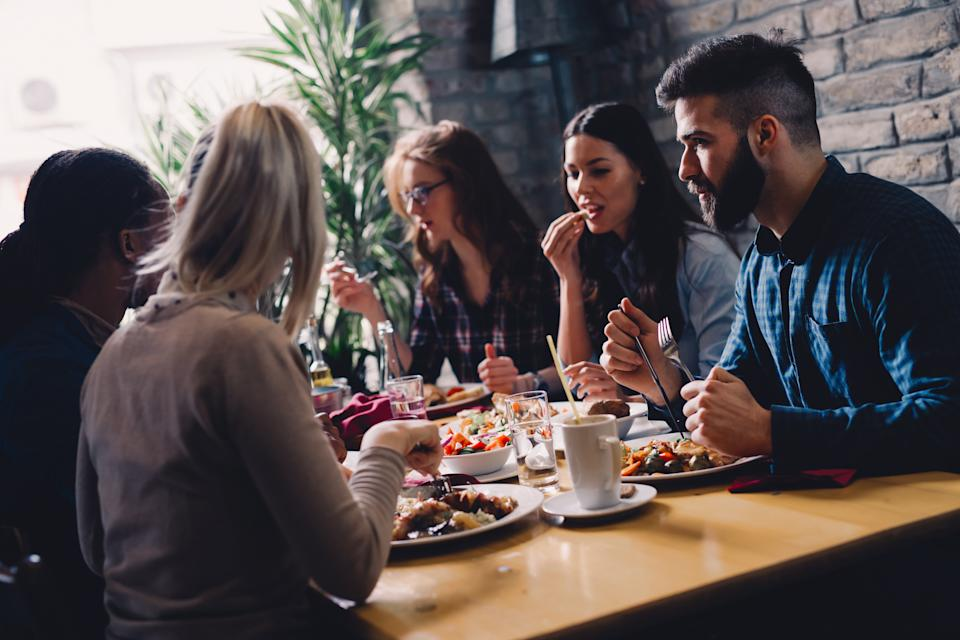 Indoor dining is back on the table. (Getty Images)