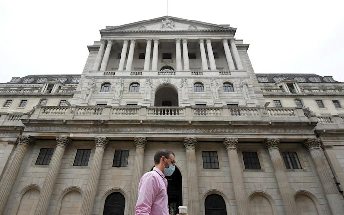 The Bank of England -  TOBY MELVILLE / Reuters