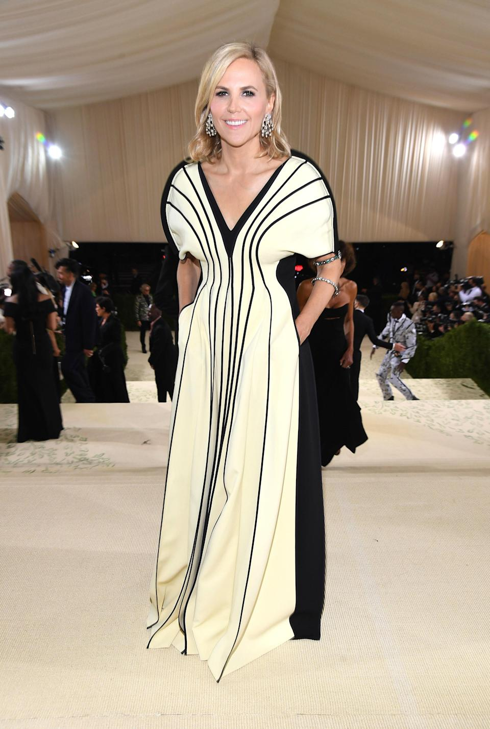 """<h1 class=""""title"""">Tory Burch, The 2021 Met Gala Celebrating In America: A Lexicon Of Fashion - Red Carpet</h1><cite class=""""credit"""">Getty</cite>"""