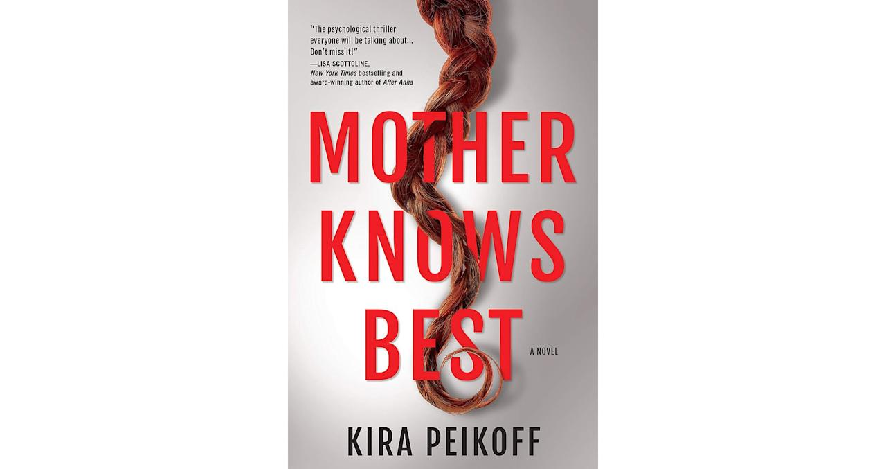 """<p>After her 8-year-old son dies because of a genetic mutation, Claire swears off the idea of having another kid. That is, until she meets a doctor running a genetic experiment focused on producing embryos with three parents. When word of their controversial (not to mention illegal) experiment leaks, things get out of hand pretty quickly. This is a book best read knowing as little information as possible ahead of time, so we'll just say this: <em>Mother Knows Best</em> is a thriller with a sci-fi twist that has the most original premise you'll read all year.</p> <p><strong>To buy: </strong>$26, <a href=""""https://www.amazon.com/Mother-Knows-Best-Novel-Suspense/dp/1643850407/ref=as_li_ss_tl?ie=UTF8&linkCode=ll1&tag=rslifethrillerbooksesile1119-20&linkId=88254fc9def11b84139112a89c4490ea&language=en_US"""" target=""""_blank"""">amazon.com</a>.</p>"""