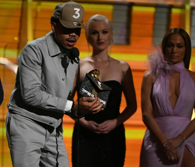 Chance The Rapper makes grammy history, earns 'Best New Artist' award
