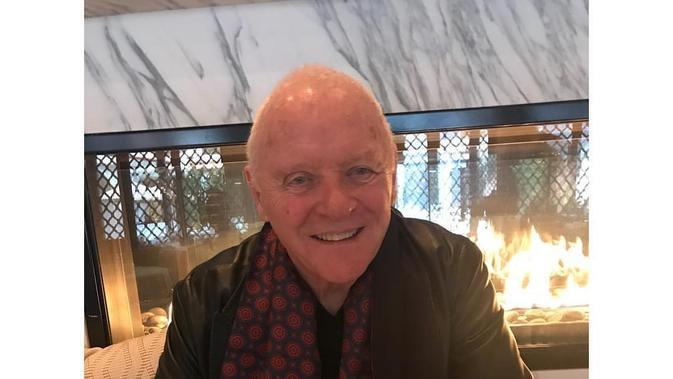 Anthony Hopkins. (Foto: Instagram terverifikasi @anthonyhopkins)