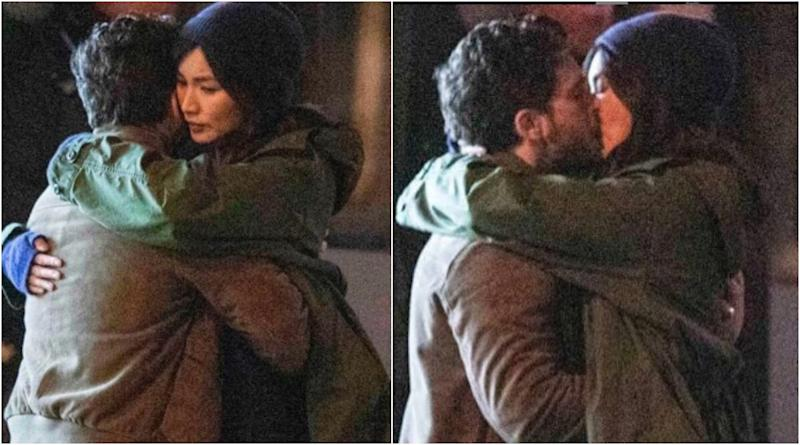 The Eternals: Gemma Chan's Sersi and Kit Harington's Black Knight Kiss in the New Pictures From the Sets, Tease Romance Between the MCU Characters