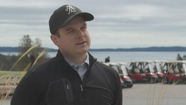 Zach Rodrigue, the director of golf at the Algonquin Resort, says getting to open the course three weeks early is good for business.