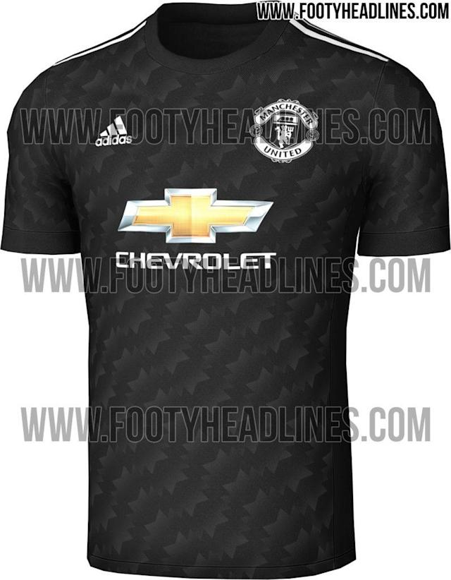 <p>Manchester United's 'leaked' away kit looks particularly nice </p>