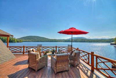 On August 30th, this 3-acre, lakefront compound with more than 420 ft on upstate New York's Saranac Lake will be sold at a live auction without reserve. Previously asking $3.9 million, the property is one of two being sold by Platinum Luxury Auctions on behalf of sellers William and Beth Zollars. Mr. Zollars was formerly CEO at YRC Worldwide, Inc., a publicly-traded, global shipping giant. Learn more at NewYorkLuxuryAuction.com.