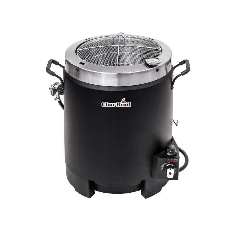 """<p><strong>Char-Broil</strong></p><p>wayfair.com</p><p><strong>$119.99</strong></p><p><a href=""""https://go.redirectingat.com?id=74968X1596630&url=https%3A%2F%2Fwww.wayfair.com%2Foutdoor%2Fpdp%2Fchar-broil-the-big-easy-oil-less-propane-turkey-fryer-hbl1293.html&sref=https%3A%2F%2Fwww.bestproducts.com%2Flifestyle%2Fg36490432%2Fgrill-accessories-sale-memorial-day-2021%2F"""" rel=""""nofollow noopener"""" target=""""_blank"""" data-ylk=""""slk:Shop Now"""" class=""""link rapid-noclick-resp"""">Shop Now</a></p><p>Looking for a healthier and safer way to fry your turkey, roast, chicken, or other large cuts of meat? The Char-Broil Big Easy offers a delicious, but healthier alternative to deep frying. Rather than relying on large vats of oil like traditional fryers, this one uses infrared heat. You can think of it as an oversized, outdoor air fryer! </p><p>The smoker also has a handy rotary-style ignition to provide a quick and easy light with the simple turn of a knob.</p>"""