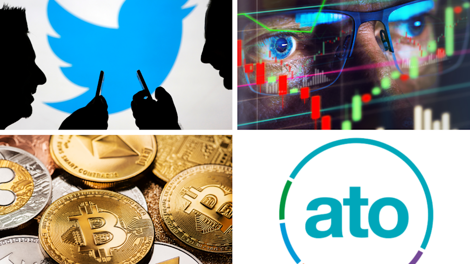 ASX to rise, crypto drops on inflation fears, ATO offers a helping hand, Twitter shuts down disappearing 'fleets'. Source: Getty/Yahoo Finance