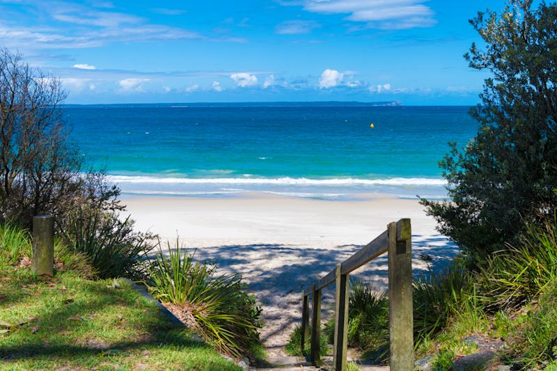 Huskisson Beach, New South Wales.