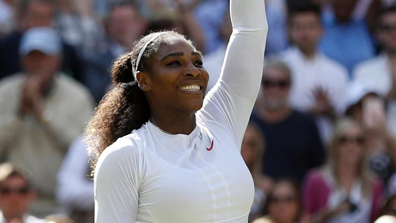 Serena Williams has made it to the semi-finals at Wimbledon as she marches towards an eighth title