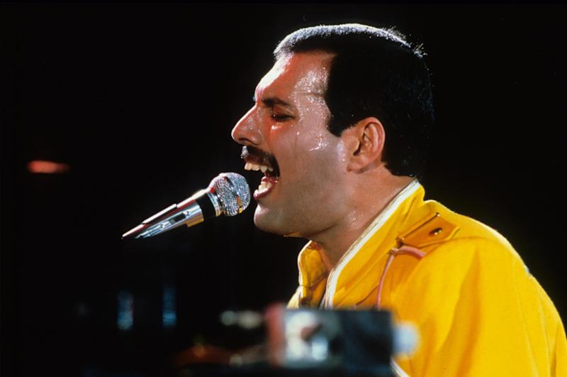 Date Unknown ** FREDDIE MERCURY (Photo by Alpha/Globe Photos/Sipa USA)