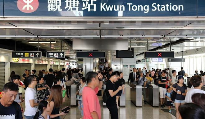 The rail operator has come under fire for its decision to suspend services and close stations. Photo: Dickson Lee
