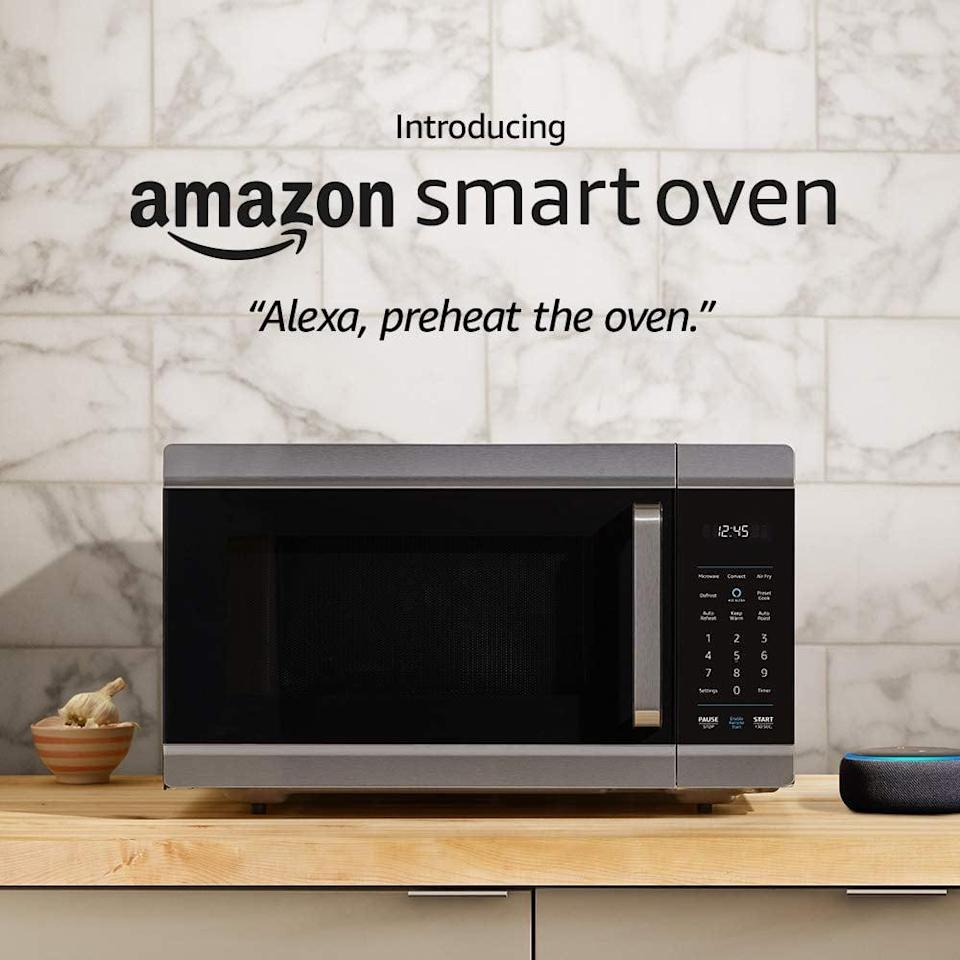 <p>How many times have you said you needed to preheat the oven, only to forget? Well, with this <span>Amazon Smart Oven</span> ($250), you can just ask Alexa.</p>