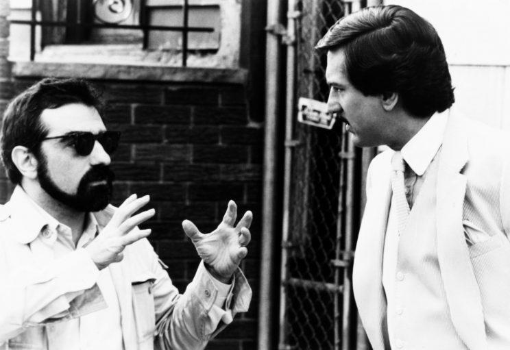 Martin Scorsese and Robert De Niro on the set of The King of Comedy. (20th Century Fox/Courtesy Everett) Collection)