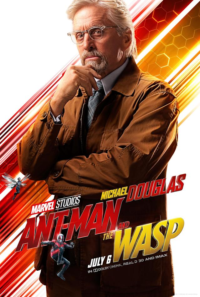 Michael Douglas in <i>Ant-Man and the Wasp</i>. (Image: Marvel)