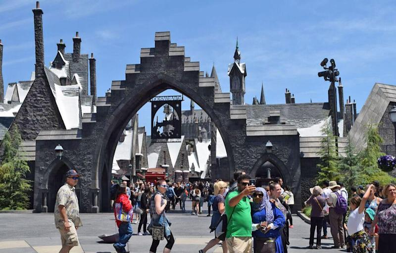 Welcome to Hogsmeade. Photo: Be