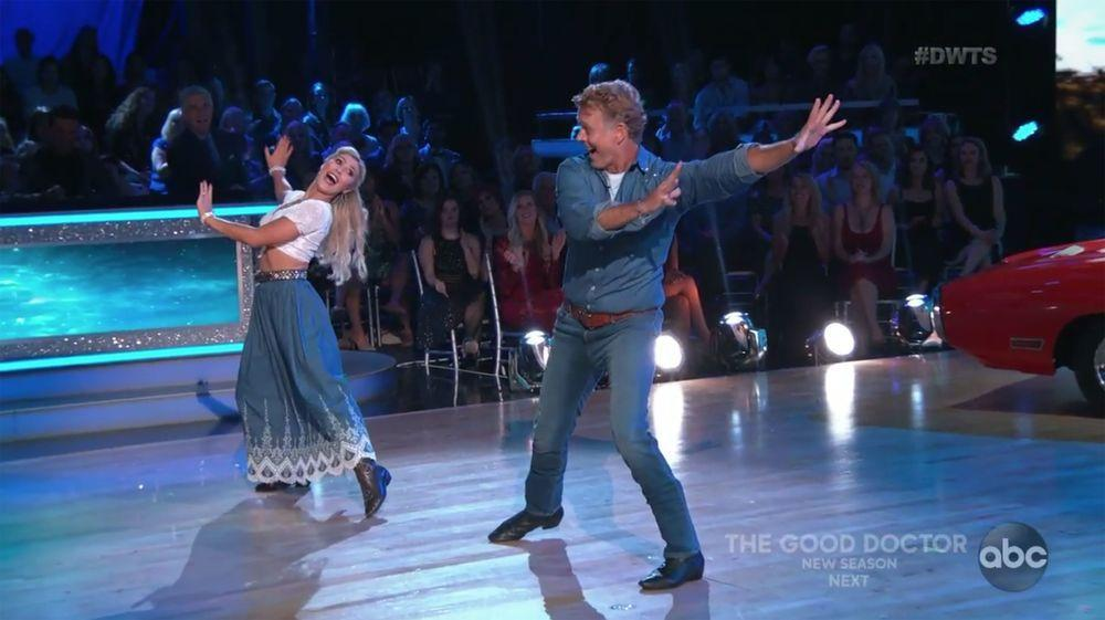 DWTS' John Schneider Gets Emotional Over His Strained