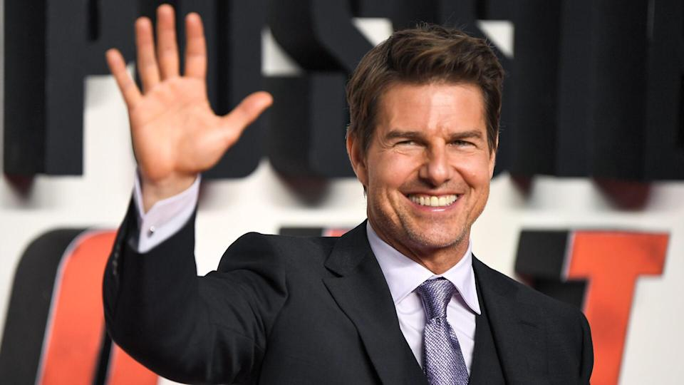 Mandatory Credit: Photo by James Gourley/REX/Shutterstock (9760929f)Tom Cruise'Mission Impossible: Fallout' film premiere, London, UK - 13 Jul 2018.