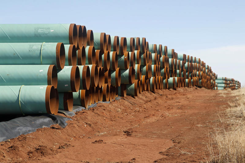 AP FACT CHECK: How Trump's Keystone XL story fell apart