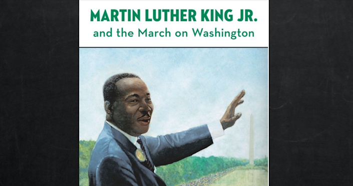 A book about Martin Luther King criticised by the activists  (Stephen Marchesi / Grosset & Dunlap)