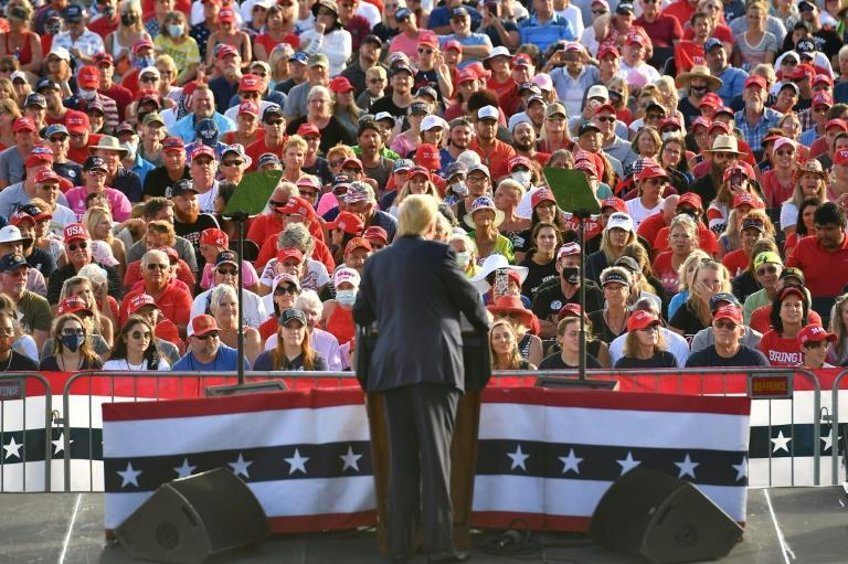 President Donald Trump will be doing rallies all the way to the election, saying there could be as many as five or six a day